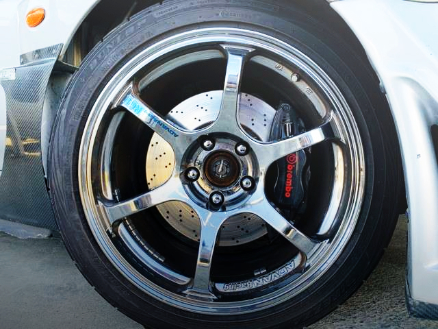 BREMBO BRAKE CALIPER OF EVO5 GSR WIDEBODY