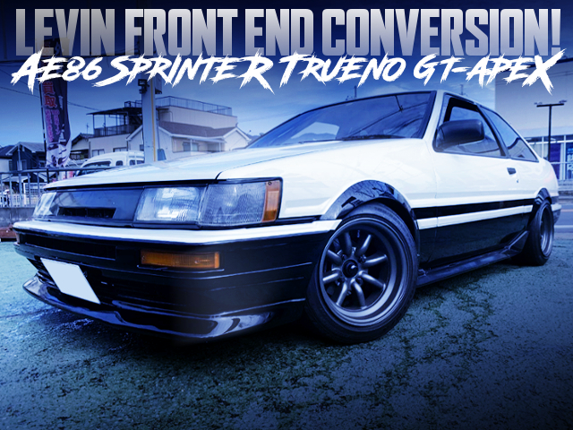 LEVIN FRONT END CONVERSION TO AE86 TRUENO GT-APEX
