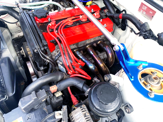 4AG ENGINE OF AE86 MOTOR