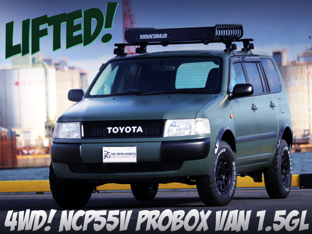 LIFTED NCP55V PROBOX VAN 1.5GL