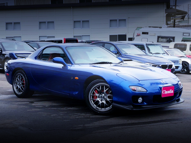 FRONT EXTERIOR OF MAZDA RX-7 SPIRIT-R TYPE-A