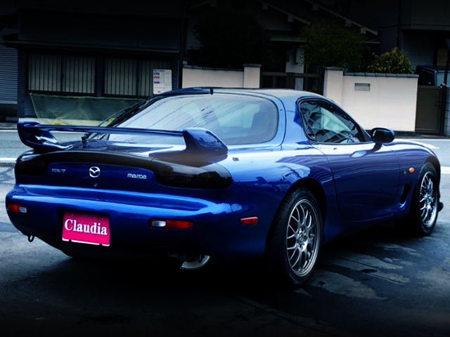 REAR EXTERIOR OF FD3S RX-7 SPIRIT-R TYPE-A