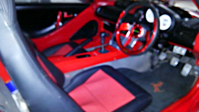 FERRARI STYLE INTERIOR BUILT OF PP1 BEAT