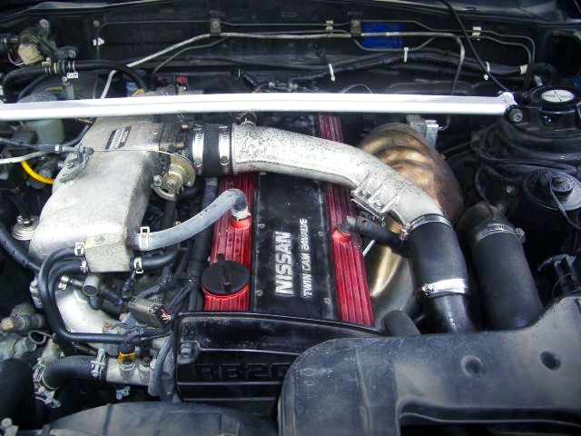 TO4E TURBOCHARGED RB20DET-R