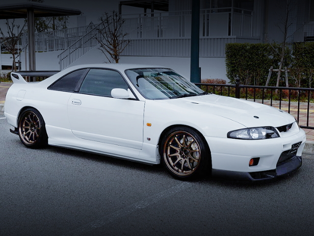 FRONT EXTERIOR OF R33 GT-R