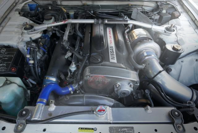 RB26 With TO4R SINGLE TURBO