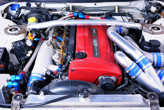RB26DETT TWINTURBO ENGINE OF R34 GT-R MOTOR