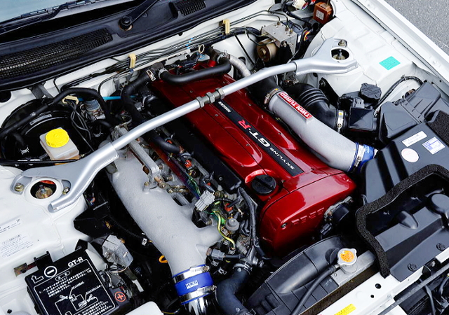RB26 TWINTURBO ENGINE OF R34GTR MOTOR