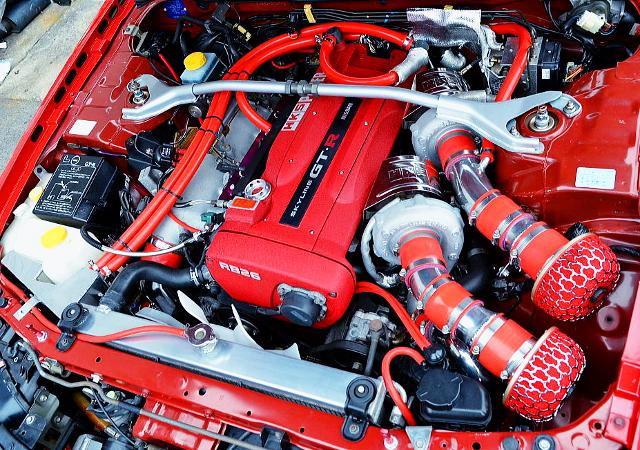 GT2835 YWINTURBO ON RB26DETT 2800cc BUILD