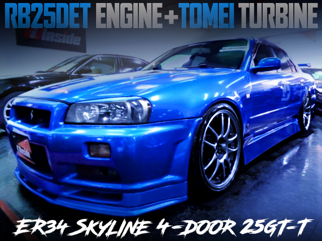 TOMEI TURBOCHARGED ER34 SKYLINE 4-DOOR 25GT TURBO