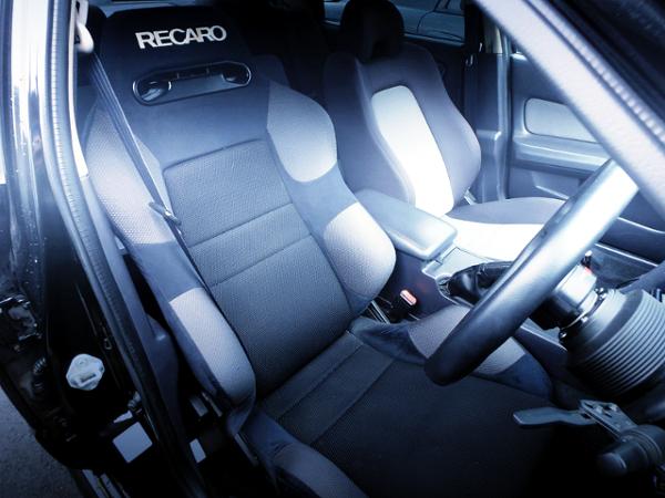 DRIVER'S RECARO SEMI BUCKET SEAT