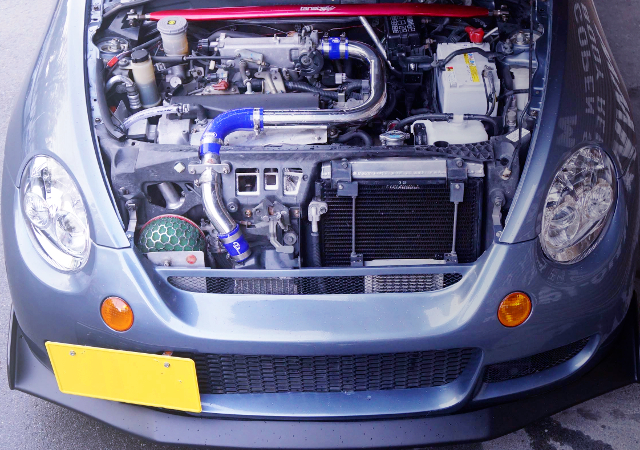 JB-DET TURBO ENGINE OF L880K COPEN MOTOR