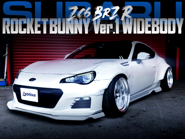 ROCKET BUNNY Ver.1 WITH SUBARU BRS R