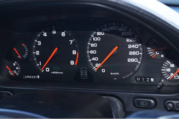 280km SPEED CLUSTER OF NA1 NSX