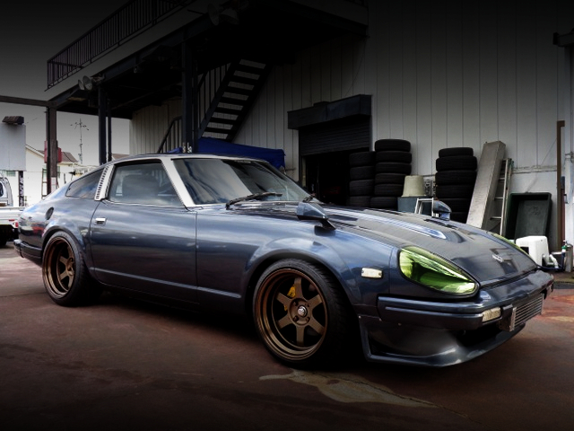 FRONT EXTERIOR OF S130 Fairlady Z