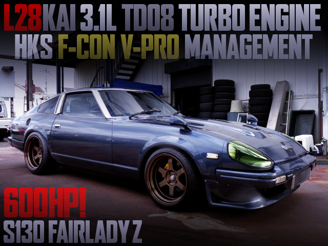 L28 3100cc AND TD08 TURBO With S130 Fairlady Z