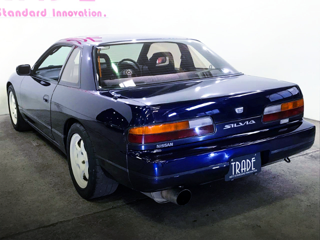 REAR EXTERIOR OF S13 SILVIA K'S TO BLUE-BLACK COLOR