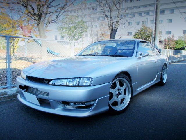 FRONT EXTERIOR OF S14 SILVIA Ks