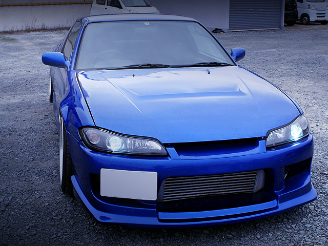 FRONT EXTERIOR OF 180SX TO S15 SILEIGHTY