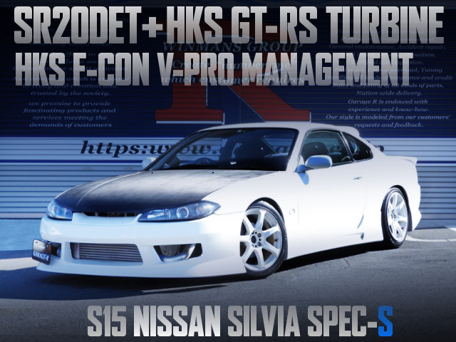 SR20DET SWAP AND GT-RS TURBOCHARGED S15 SILVIA SPEC-S