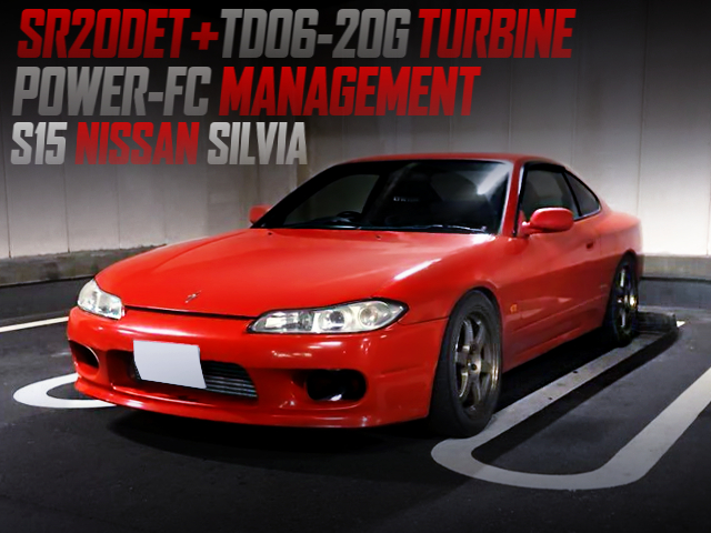 SR20DET With TD06-20G TURBO And POWER-FC INTO A S15 SILVIA