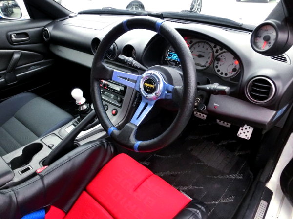 INTERIOR STEERING AND CLUSTER OF S15 SILVIA SPEC R