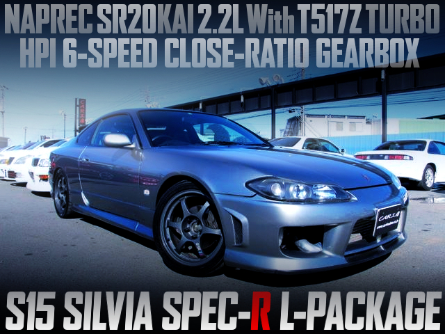NAPREC SR20DET 2.2L With T517Z TURBO INTO A S15 SILVIA SPEC-R L-PKG
