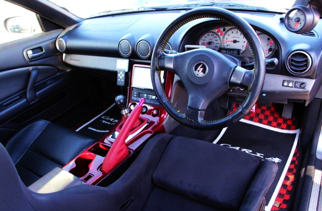 INTERIOR OF S15 SILVIA SPEC-R