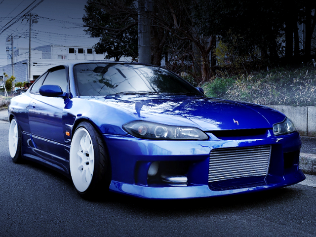 FRONT EXTERIOR OF S15 SILVIA SPEC S