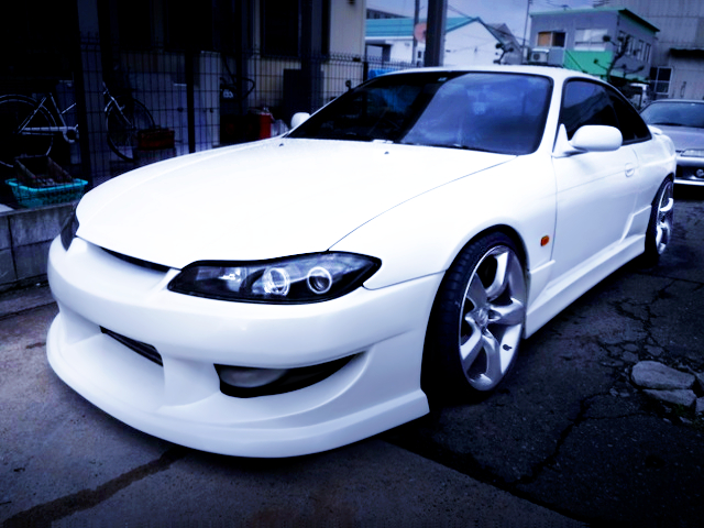 FRONT EXTERIOR OF S15 FACE TO S14 SILVIA
