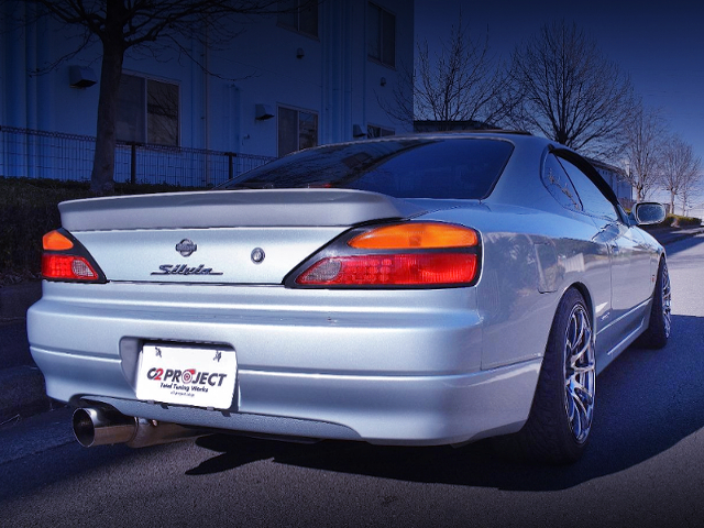 REAR EXTERIOR OF OF S15 SILVIA
