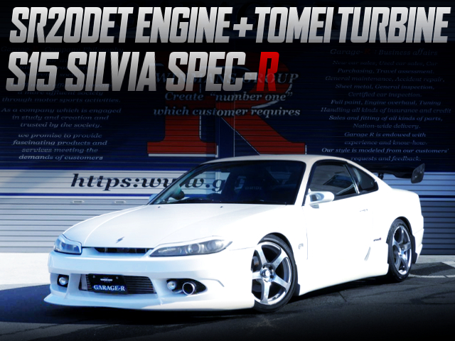 SR20DET With TOMEI TURBO INTO A S15 SILVIA SPEC-R