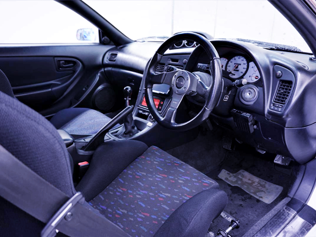INTERIOR OF ST202 CELICA SS3