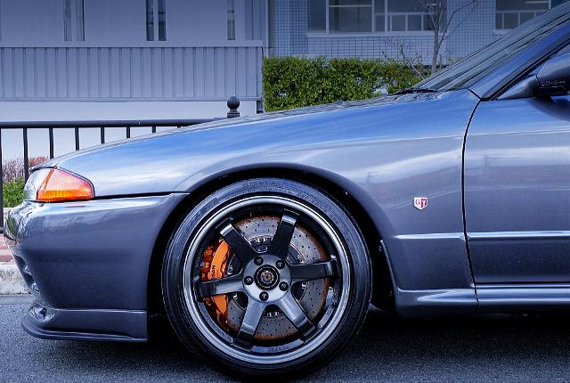 R35 GT-R Brembo CALIPER CONVERSION TO R32 GT-R