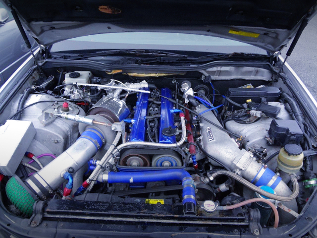 2JZ-GTE ENGINE With T88 SINGLE TURBO