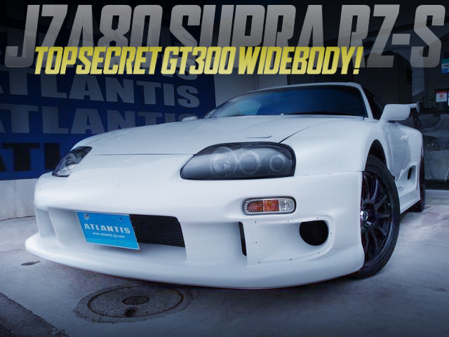 TOPSECRET GT300 WIDEBODY INSTALLED JZA80 SUPRA RZ-S