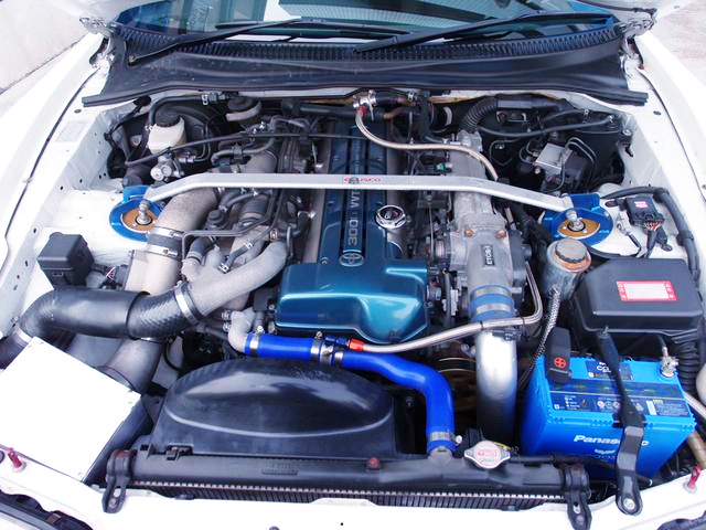 VVTi 2JZ-GTE TWINTURBO ENGINE