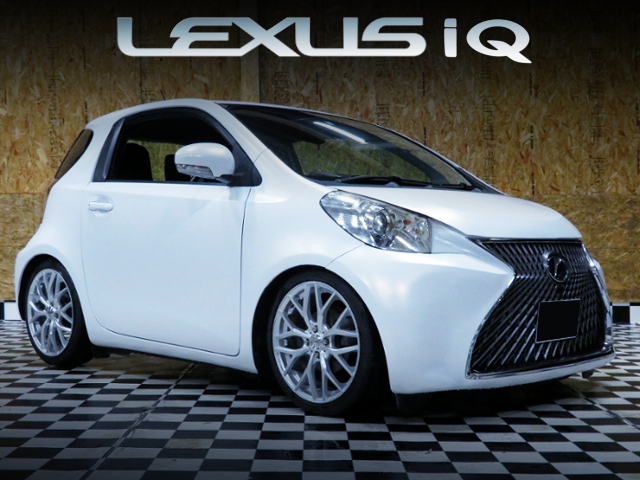 LEXUS SPINDLE GRILLE MODIFIED TOYOTA IQ