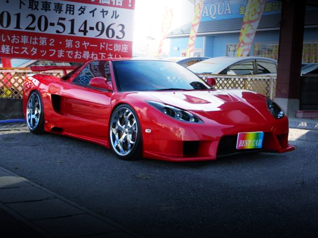 FRONT EXTERIOR OF VEILSIDE FORTUNE NA1 NSX
