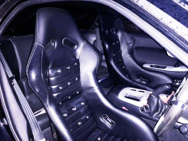 FULL BUCKET SEATS OF FORTUNE RX-7 INTERIOR