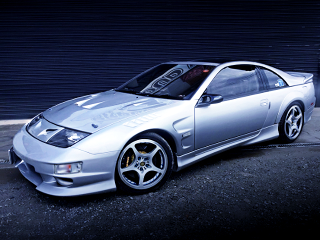 FRONT EXTERIOR OF Z32 FAIRLADY Z