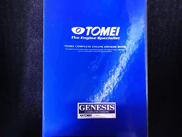 TOMEI GENESIS MANUAL BOOK