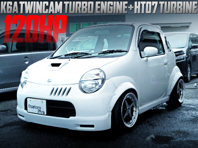 K6A TWINCAM TURBO With HT07 TURBO INTO A SUZUKI TWIN