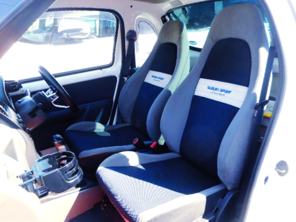 ALTO WORKS SEATS CONVERsION