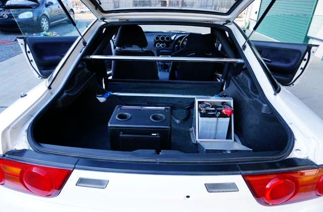 180SX LUGGAGE SPACE