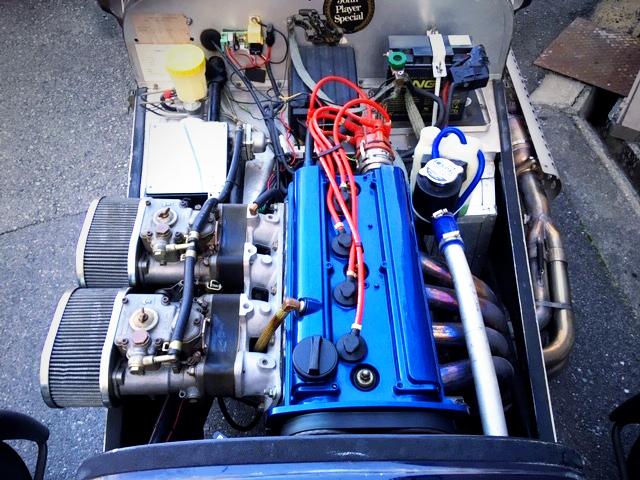 20V 4AG ENGINE WITH CARBS