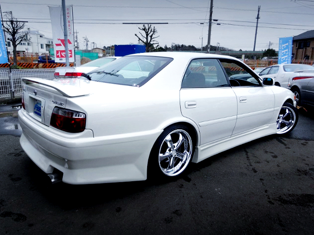 REAR EXTERIOR OF JZX100 CHASER TOURER-S