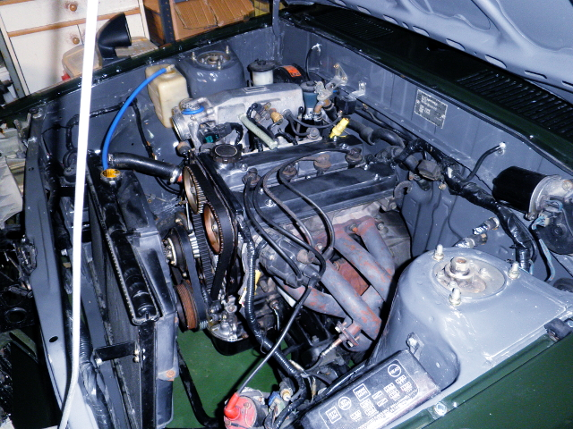 16V 4AG ENGINE AND EXHAUST MANIFOLD