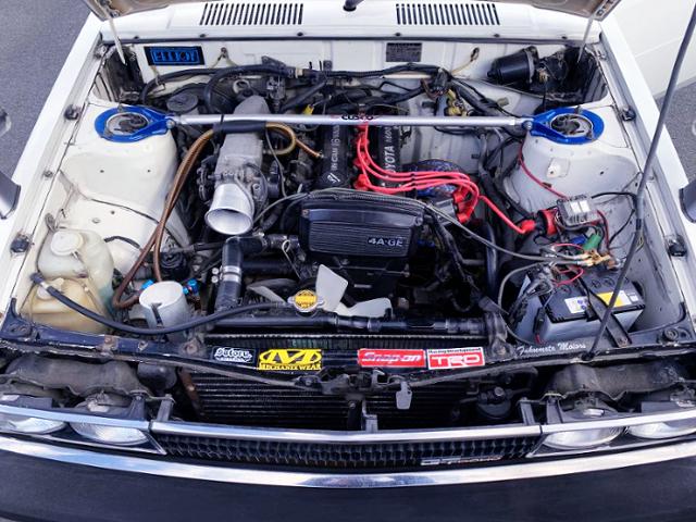 16-VALVE 4AGE ENGINE