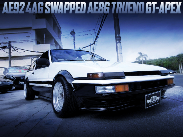 AE92 4AG SWAPPED AE86 TRUENO GT-APEX WIDEBODY